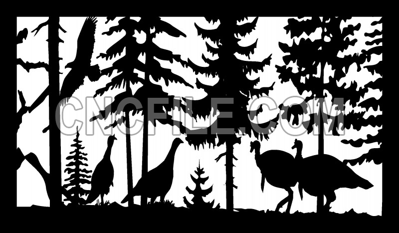 "dxf File /""Turkeys/"""